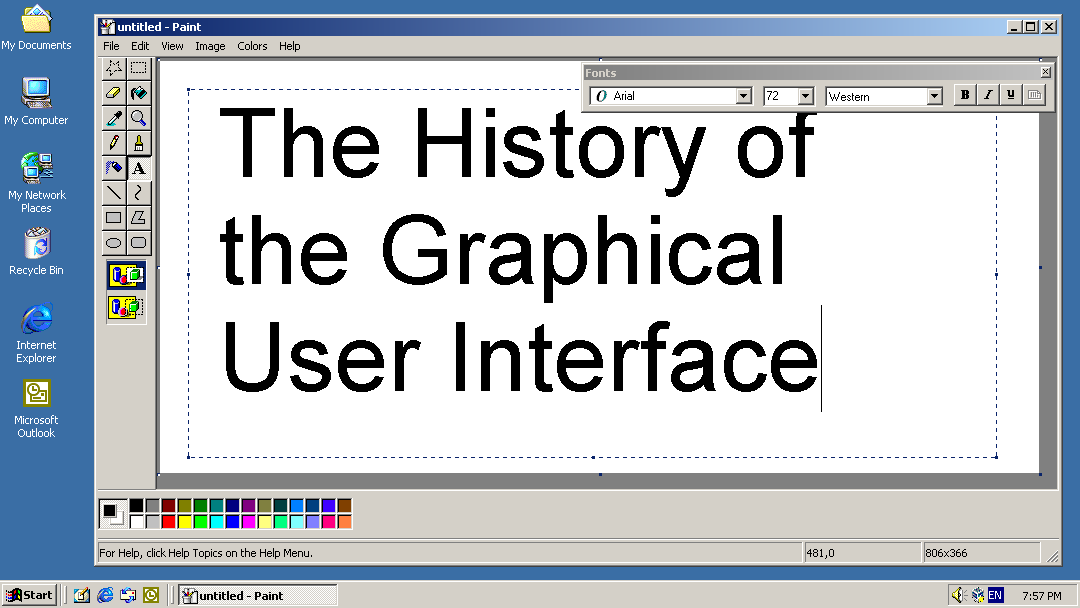 The History of the Graphical User Interface (GUI)
